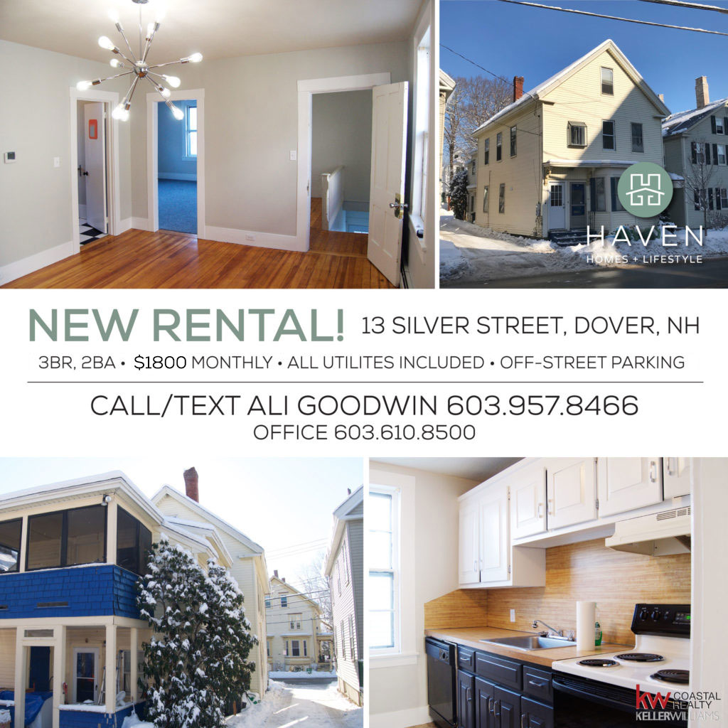 Ali Goodwin Dover New Hampshire Rental Downtown