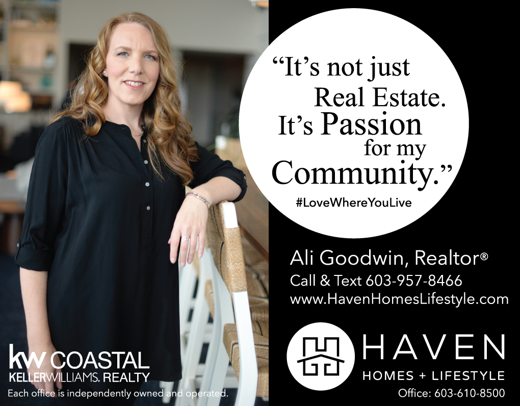 Ali Goodwin, Realtor - Haven Homes and Lifestyle at Keller Williams Coastal Realty - Maine and New Hampshire